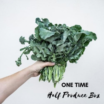 One Time Half Produce Box