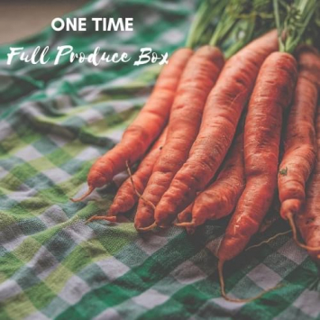 One Time Full Produce Box