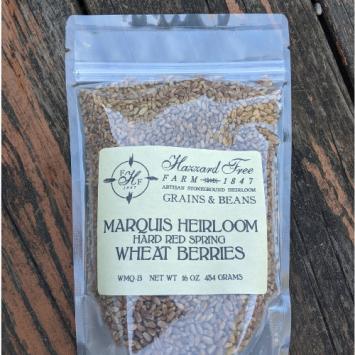 Hazzard Free Farm Marquis Heirloom Wheat Berries