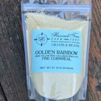 Hazzard Free Farm Golden Rainbow Cornmeal