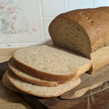 Sprouted Whole Wheat Bread