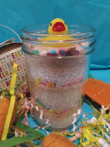 Candy Confetti Bath Salts w/ Rubber Duck