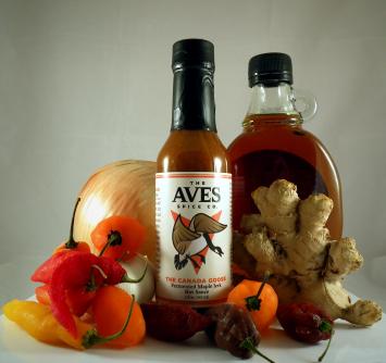 The Canada Goose:Maple Jerk Hot Sauce