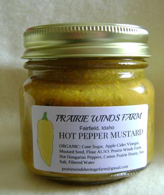 Mustard, Hot  Pepper