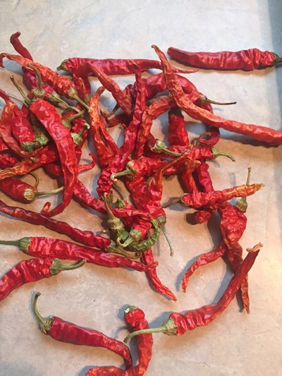 Peppers, Cayenne, Dried