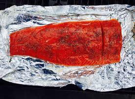 Salmon, Sockeye Case