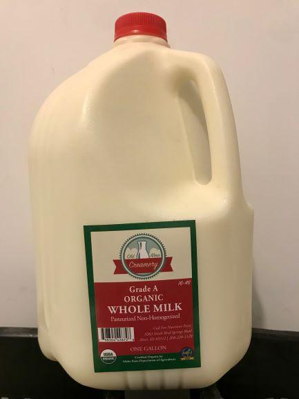 Milk, Pasteurized, Gallon