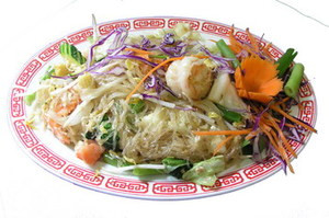Pad Woon Sen, Pork