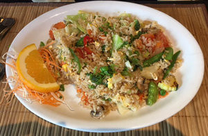 Thai Fried Rice, Seafood