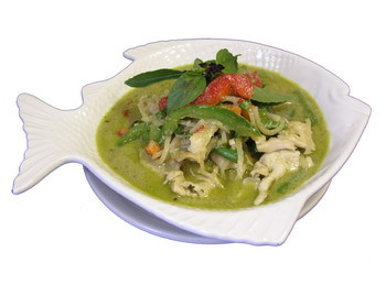 Green Curry, Shrimp