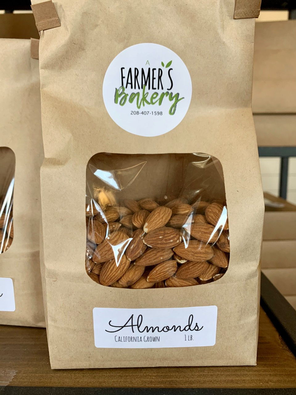 Almonds, Fresh, Raw FM