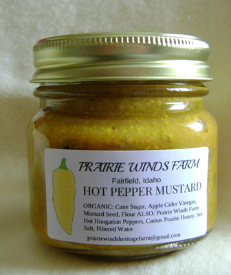 Mustard, Hot  Pepper