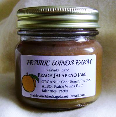 Jam, Peach Jalapeno