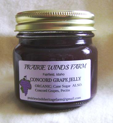 Jelly, Concord Grape