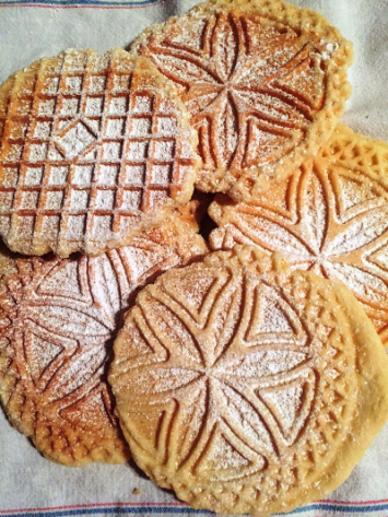 Pizzelles, Blackberry