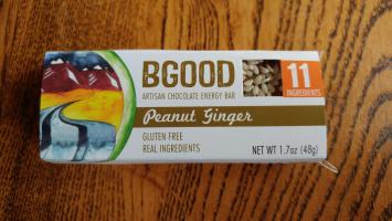 Peanut Ginger Bar
