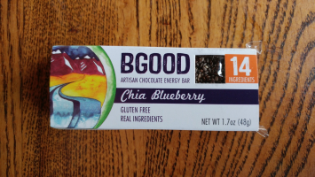 Chia Blueberry Bar