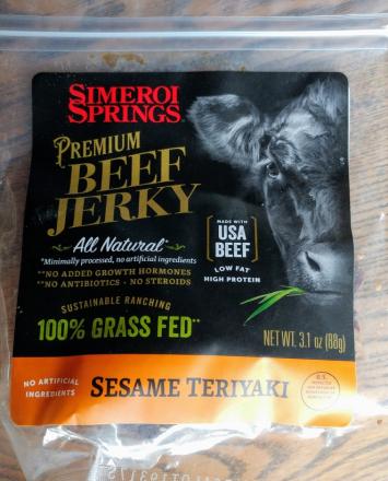 Beef Jerky, Sesame Teriyaki