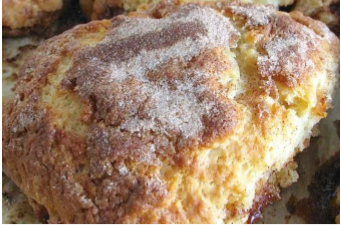 Cinnamon Breakfast Scone