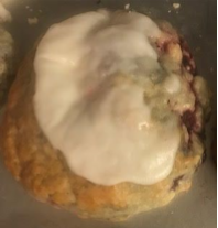 Strawberry Breakfast Scone