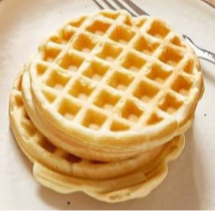Gluten Free Sweet Cream Waffle