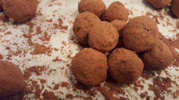 Xmas Earl Grey Truffles