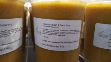 Heirloom Squash & Seeds Bisque
