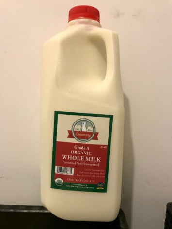 Milk, Pasteurized, 1/2 Gal