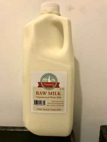 Milk, Raw, 1/2 Gal