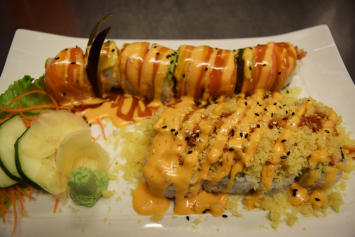 Yellow Dragon Roll