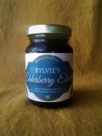 Sylvie's Elderberry Elixir 4 oz