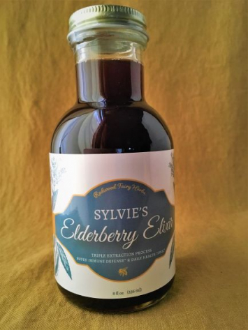 Sylvie's Elderberry Elixir 8 oz