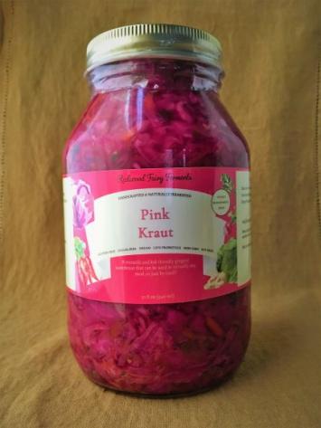 Pink Kraut, 32 oz