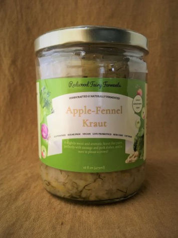 Apple-Fennel Kraut, 16 oz