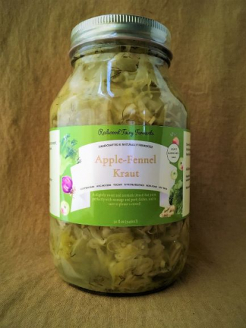 Apple-Fennel Kraut, 32 oz