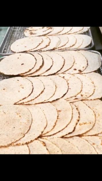 Cassava Coconut Tortilla