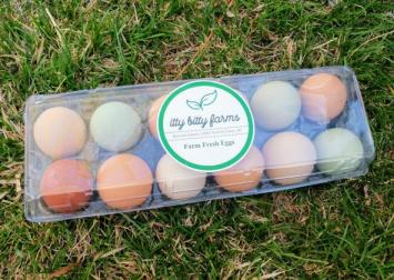 Eggs, Itty Bitty Farms