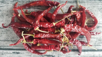 Ring of Fire Peppers, Dried