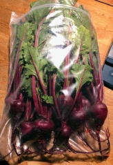 Beets, Red w/ Greens NF