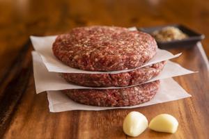 Ostrich Steak Burgers, Gourmet