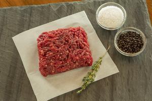 Ostrich Ground Steak, Gourmet