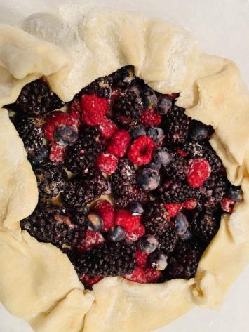 Mixed Berry Italian Crostata