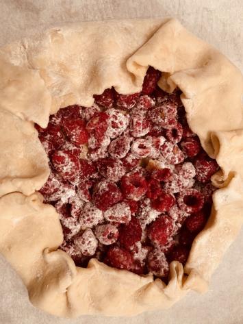 Raspberry Italian Crostata