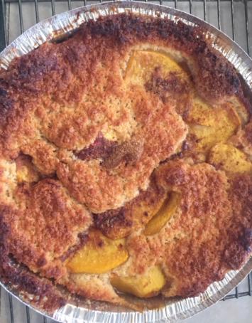 Cobbler, Peach