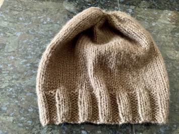 Hand Knit Slouch Beanie