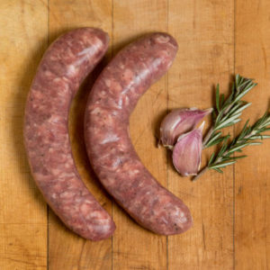 Lamb Rosemary Garlic Sausage