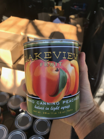 Peaches, Canned WW