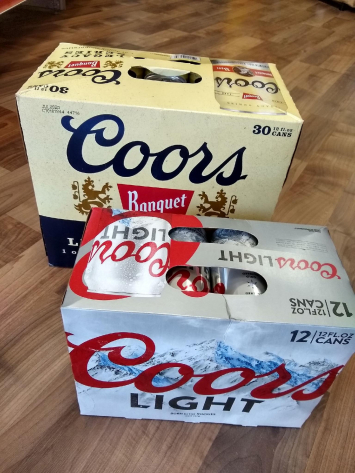 Coors Light, 30 Pack