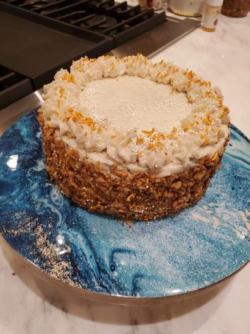 Cake, Carrot CMM