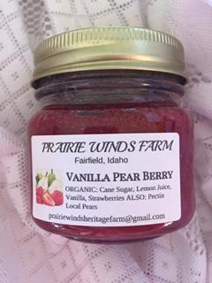 Jam, Vanilla Pear Berry
